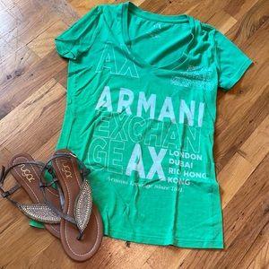 EUC Armani Exchange tshirt!